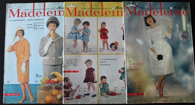 The covers! I like how weird the first one is. I don't think many fashion magazines today would have their models pose with a banana that way...