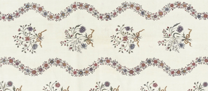 Chintz, ca. 1775, India. Collection Rijksmuseum Amsterdam