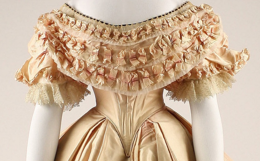 Dress Date: 1860–61 Culture: French