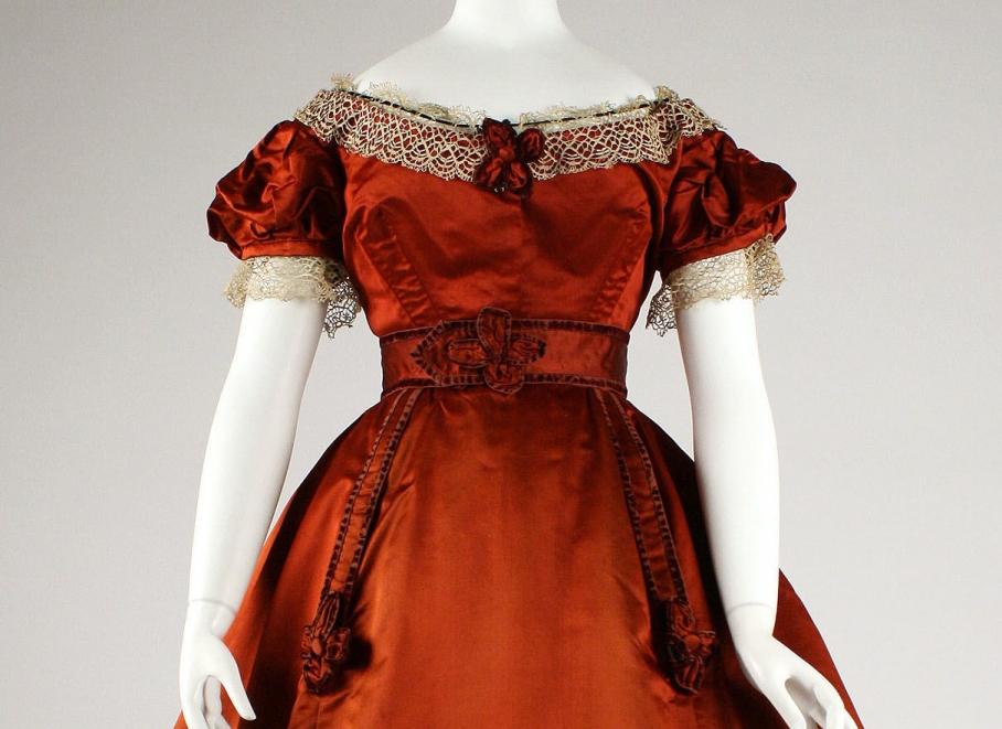 Visiting dress Date: 1865–68 Culture: British Medium: silk