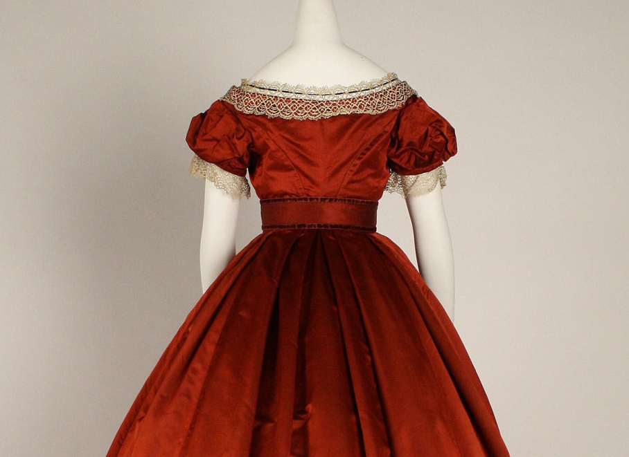 Visiting dress Date: 1865–68 Culture: British Medium: silk