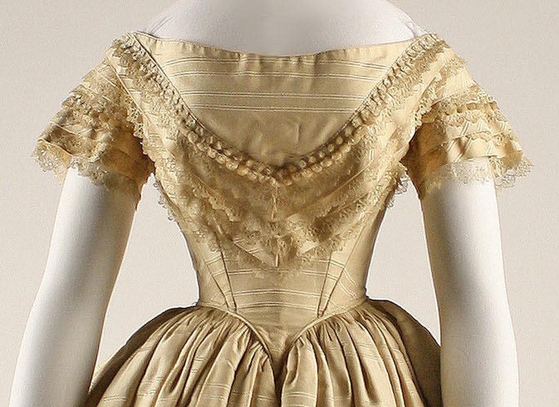Mid 19th century ballgown bodices | Atelier Nostalgia