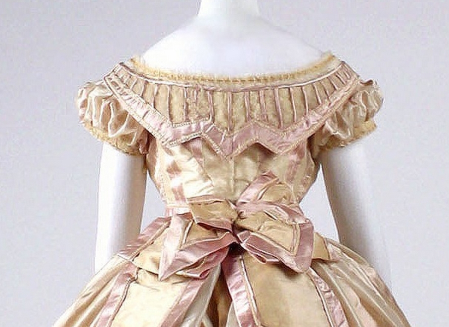 Dress Date: ca. 1865 Culture: French Medium: silk